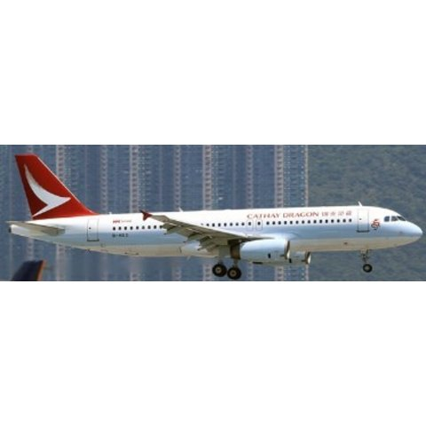 A320 CATHAY DRAGON NC16 B-HSO 1:400