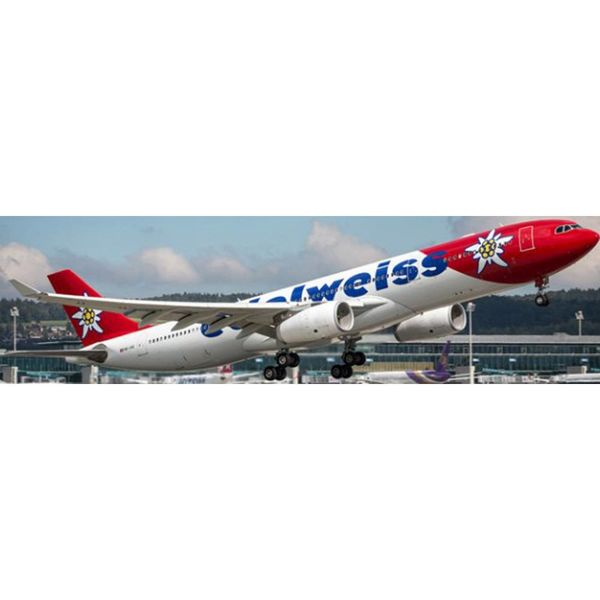 JC Wings A330-300 EDELWEISS HB-JHQ 1:400
