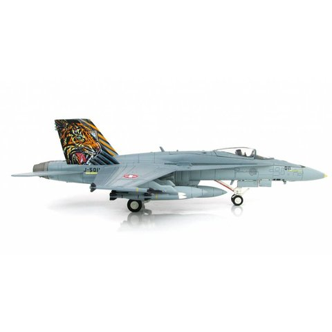 FA18C Swiss Air Force Tiger Meet 2016 1:72 with stand