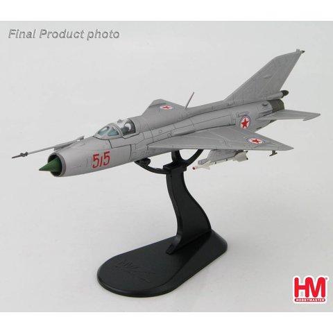 MIG21PFM North Korean Air Force RED515 1:72**o/p**