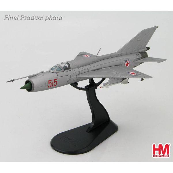 Hobby Master MIG21PFM North Korean Air Force RED515 1:72**o/p**