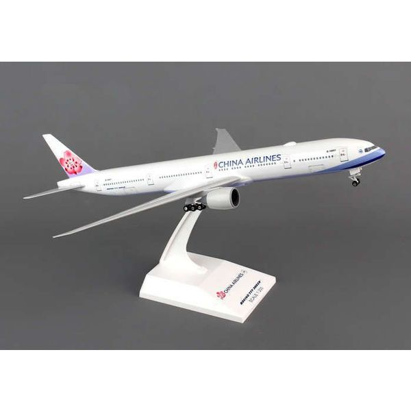 SkyMarks B777-300ER China Airlines 1:200 with stand+gear