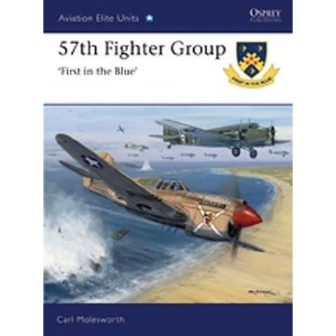 57TH FIGHTER GROUP:1ST IN BLUE:OAE#39 SC