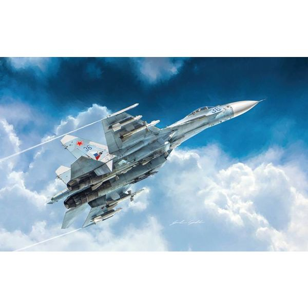 ITALE SU27 Flanker 1:72 3 decal options