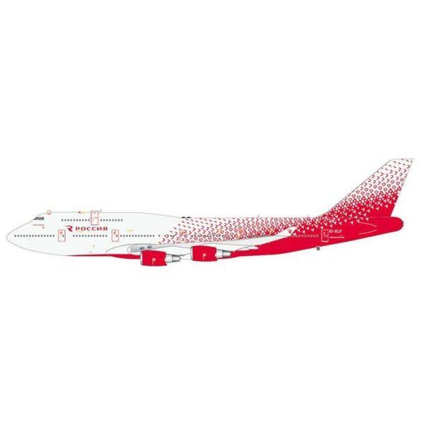 JC Wings B747-400 ROSSIYA NC16 EI-XLF 1:400