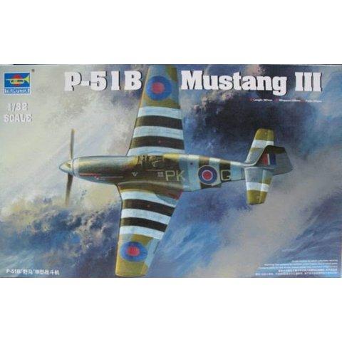 MUSTANG III RAF(P51B/C) 1:32 KIT