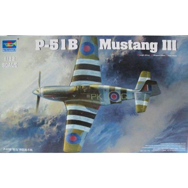 Trumpeter Model Kits MUSTANG III RAF(P51B/C) 1:32 KIT