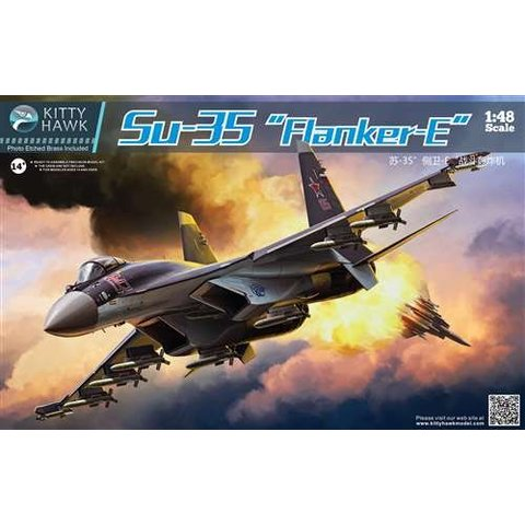 SU-35 FLANKER E 1:48 SCALE KIT