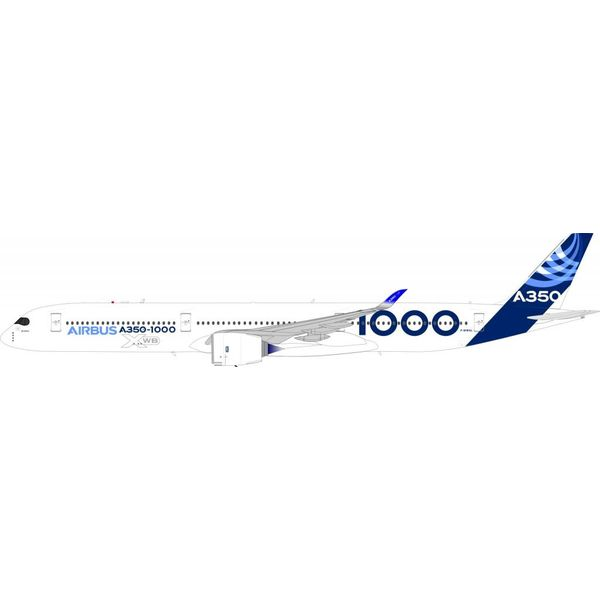 InFlight A350-1000 Airbus House Livery Blue F -WMXL 1:200 with Stand