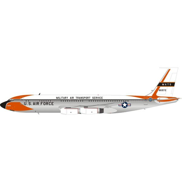 InFlight VC137C/B707-100 US Air Force USAF MATS 58-6972 1:200 with stand