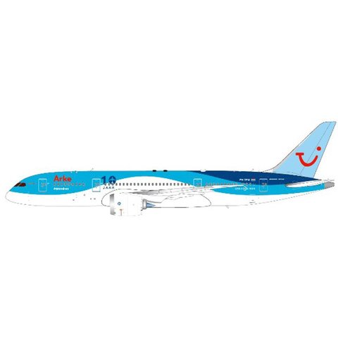 B787-8 Arke 10 Jaar PH-TFM 1:200 with stand