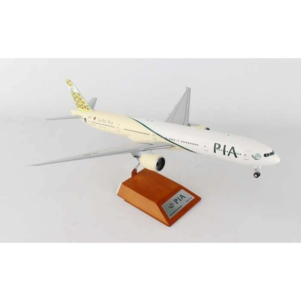 JC Wings B777-300ER PIA Pakistan International Silk Route AP-BID 1:200 with stand