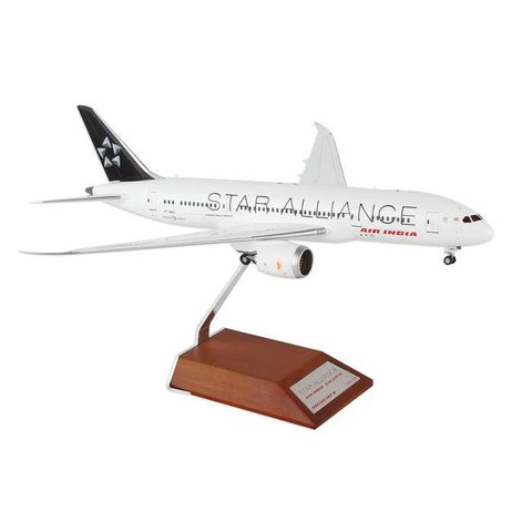B787-8 Air india Star Alliance VT-ANU 1:200 with stand++SALE++