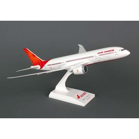 SkyMarks B787-8 Dreamliner Air India 1:200 with stand