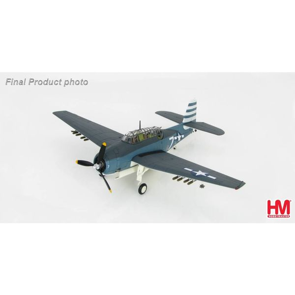 Hobby Master TBM3 Avenger VT12 WHITE 7 Task Force 86 1:72 with stand**o/p**