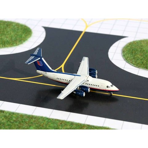 BAE146-200 United Express 1992 livery 1:400