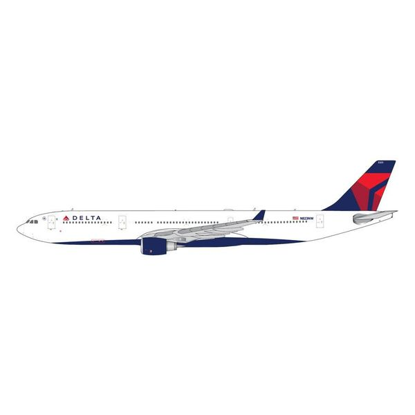 Gemini Jets A330-300 Delta 2007 Livery N823NW 1:400 (4th release)