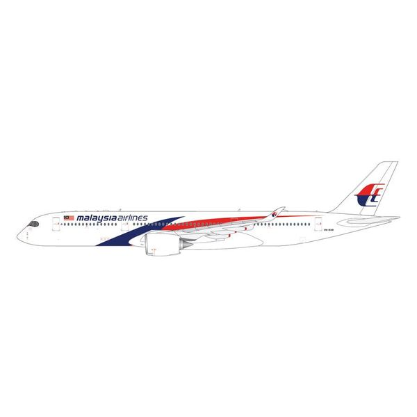 Gemini Jets A350-900 Malaysia New Livery 9M-MAB 1:400