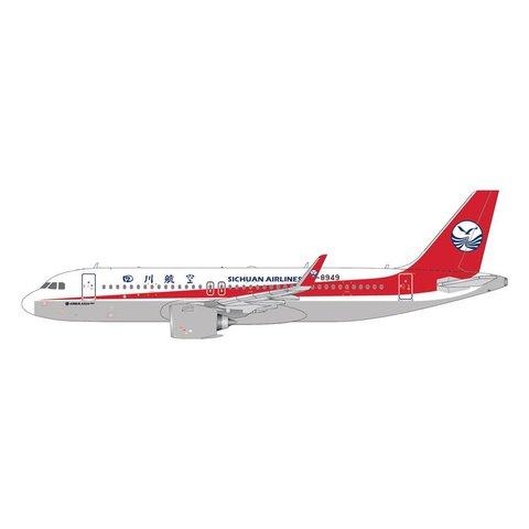 A320neo Sichuan Airlines B-89491:400 (1st Gemini Sichiuan model)