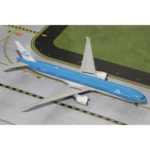 B777-300ER KLM New livery 2014 PH-BVN 1:200 with stand