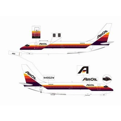 JETX B737-200CF AIR CAL 1:200**O/P**
