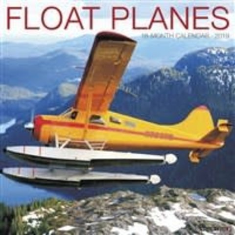 Float Planes 18 month Calendar 2019+SALE PRICE+