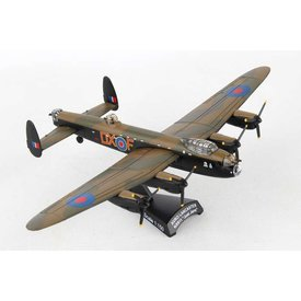 Postage Stamp Models Lancaster Royal Air Force RAF DX-F Just Jane 1:150 with stand