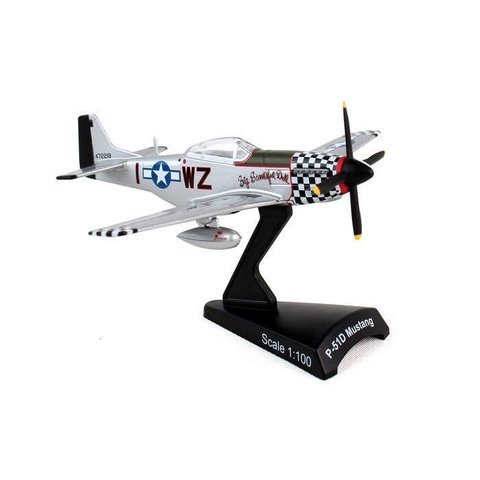 P51D Mustang Big Beautiful Doll I-WZ 1:100 with stand