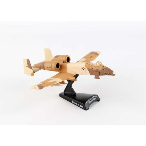 A10 Warthog USAF Peanut Desert Camo 1:140 with stand