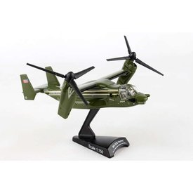 Postage Stamp Models MV22B Osprey HMX1 Marine One Green 1:150 with stand