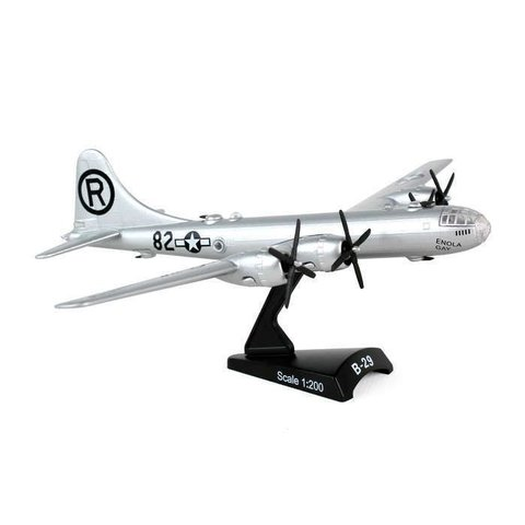 B29 Superfortress USAAF Enola Gay R 1:200 with stand