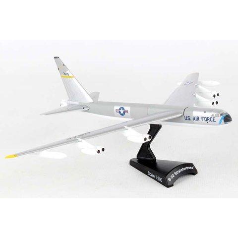 B52 Stratofortress USAF silver 2005 1:300 with stand