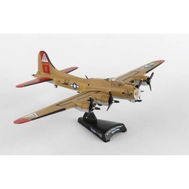 Postage Stamp Models B17G Flying Fortress USAAF Nine-O-Nine A R Camouflage 1:155 with stand