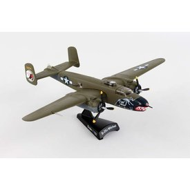Postage Stamp Models B25J Mitchell USAAF Betty's Dream camouflage 1:100 with stand