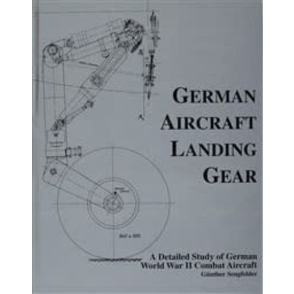 Schiffer Publishing German Aircraft Landing Gear Hardcover (NSI)