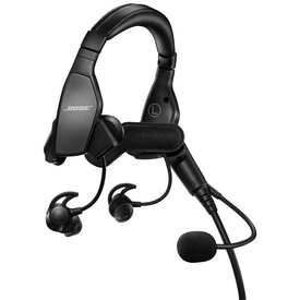 Bose ProFlight Headset with Bluetooth dual GA Jacks**o/p**