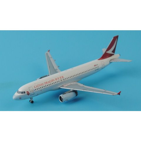 JC Wings A320 Cathay Dragon new livery 2015 B-HSO 1:400**o/p**