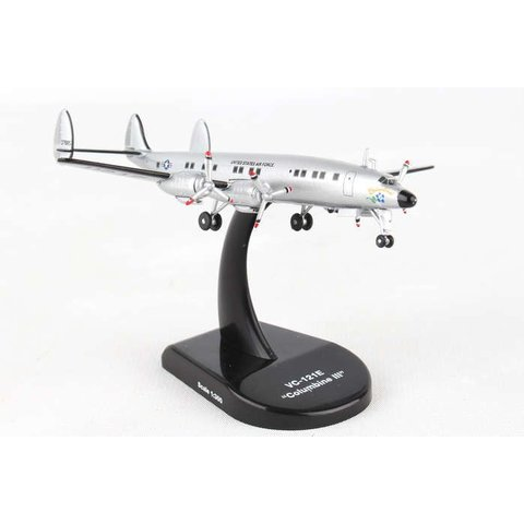VC121E Constellation USAF Columbine III 1:300 with stand
