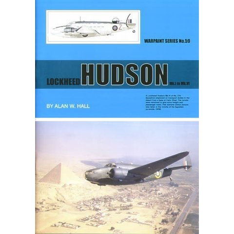 Lockheed Hudson: Warpaint #59 Softcover