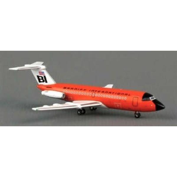 JC Wings JCWIN BAC111-200 BRANIFF ORANGE N1544 40