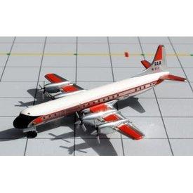 JC Wings L188 ELECTRA FAA FEDERAL AVN 1:400
