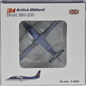 JC Wings S360 BRITISH MIDLAND 1:400