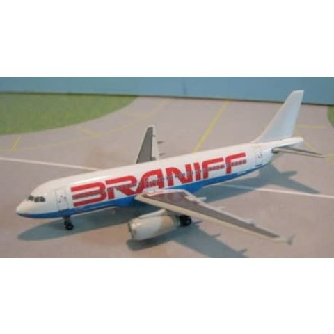A320 BRANIFF RED/BLUE 1:400**O/P**