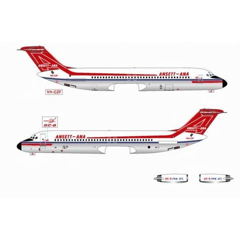 JETX DC9-30 ANSETT-ANA VH-CZF 400**O/P**