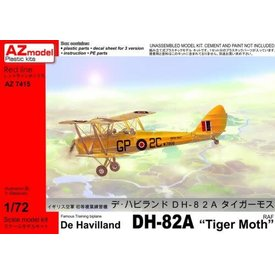 AZ MODEL AZMOD DH82A Tiger Moth RAF/RN 1:72