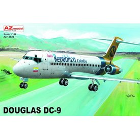 AZ MODEL AZMOD DC9 Aero Republica Columbia 1:144