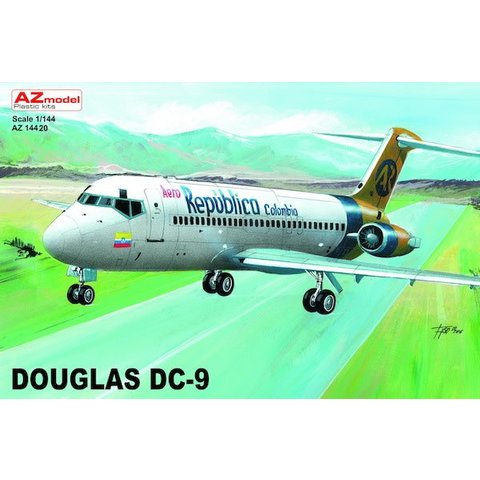AZMOD DC9 Aero Republica Columbia 1:144