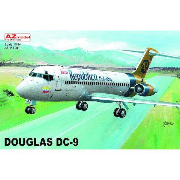 AZ MODEL AZMOD DC9 Aero Republica Columbia 1:144