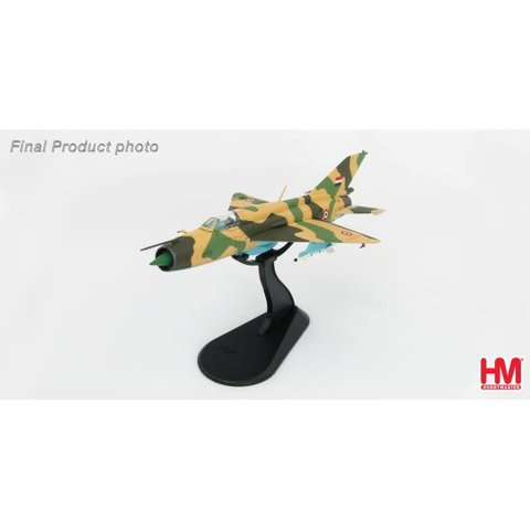 MIG21FL Egyptian Air Force 6 Day War 1:72 with stand