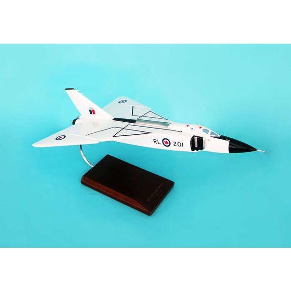 Avro CF105 Arrow 1:48 Mahogany Model with stand